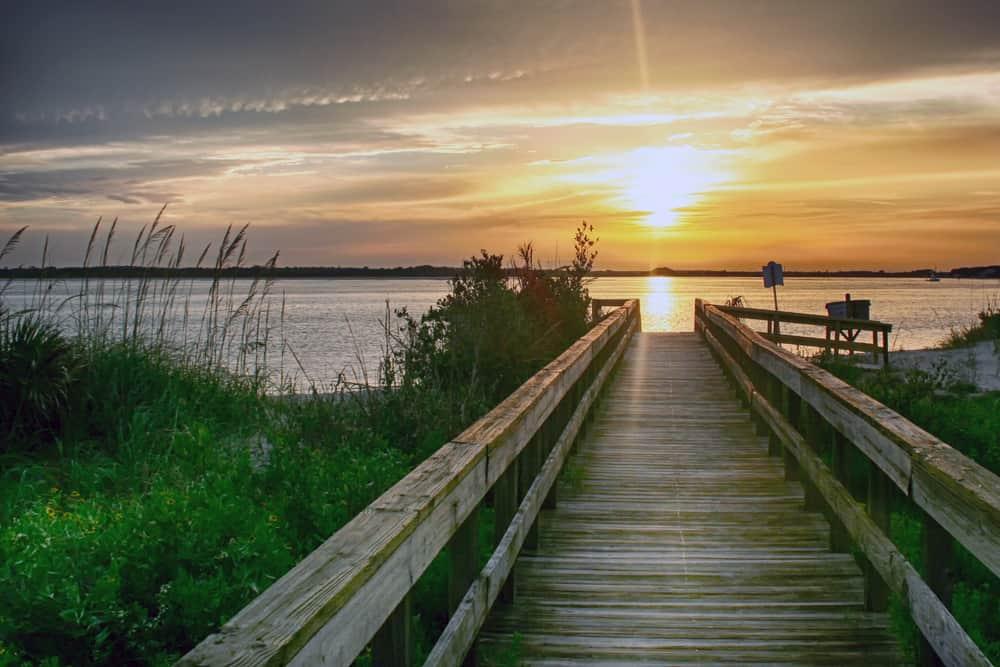 Florida East Coast Beaches good for surfing Smyrna Beach