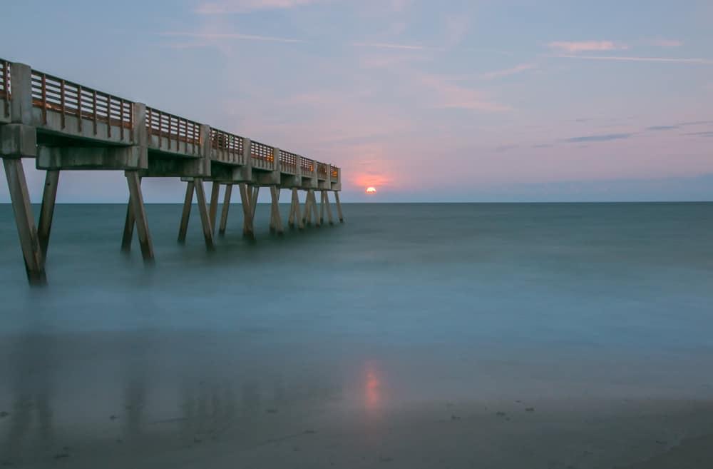 A beautiful sunrise on Vero beach