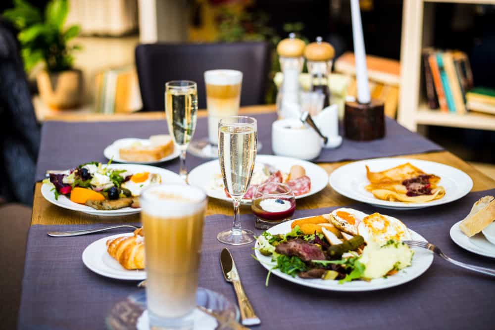 Head to George Bistro and Bar for a delicious brunch in Pensacola Florida