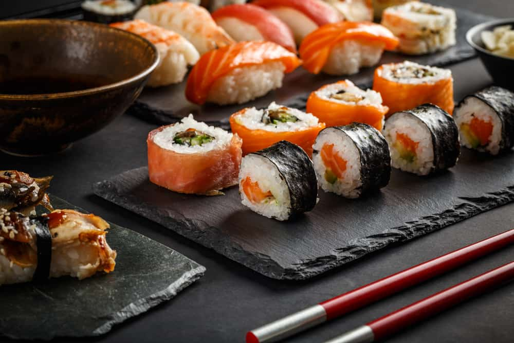 Come try the sushi at Ichiban  very extensive sushi menu