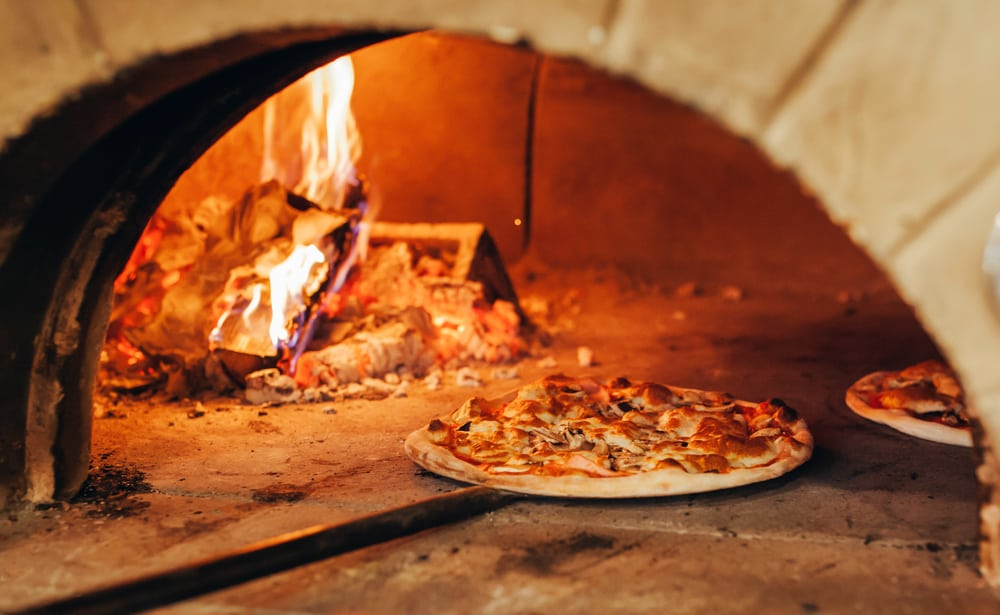 Try the wood fired pizza at this Pensacola Pizzeria with an oven imported from italy