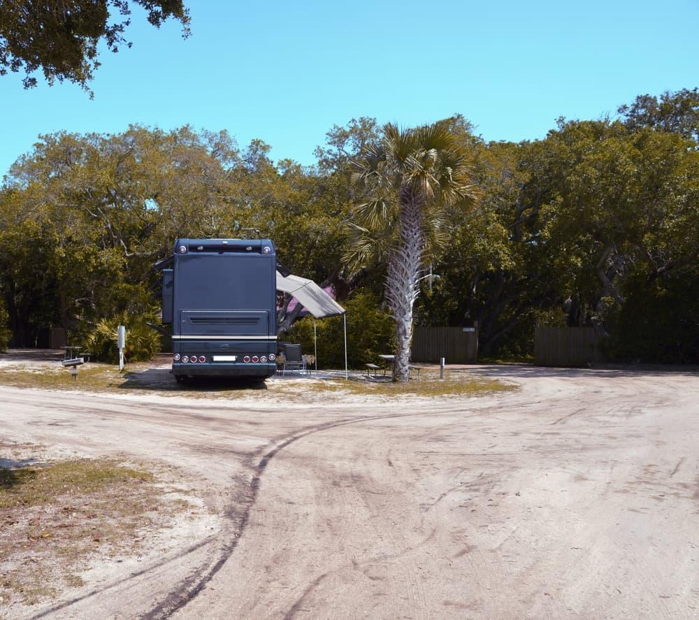 An RV Park in St Augustine, Florida
