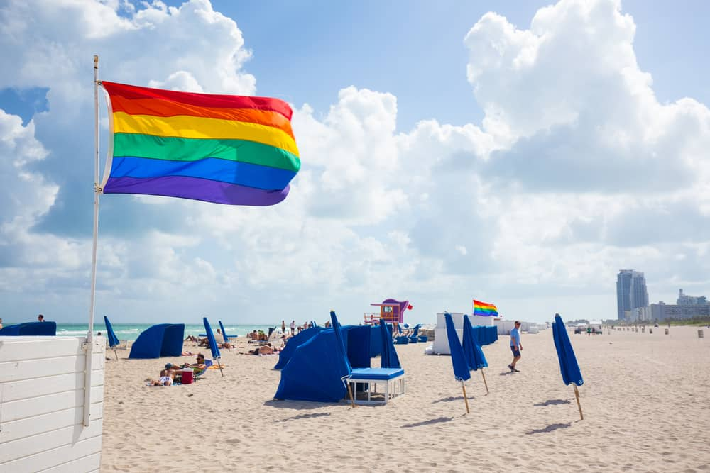 12th street is one of the gay friendly beaches in Miami