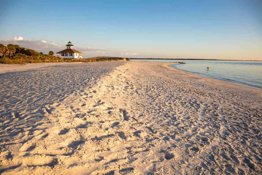 St George Island a great beach in Florida for couple