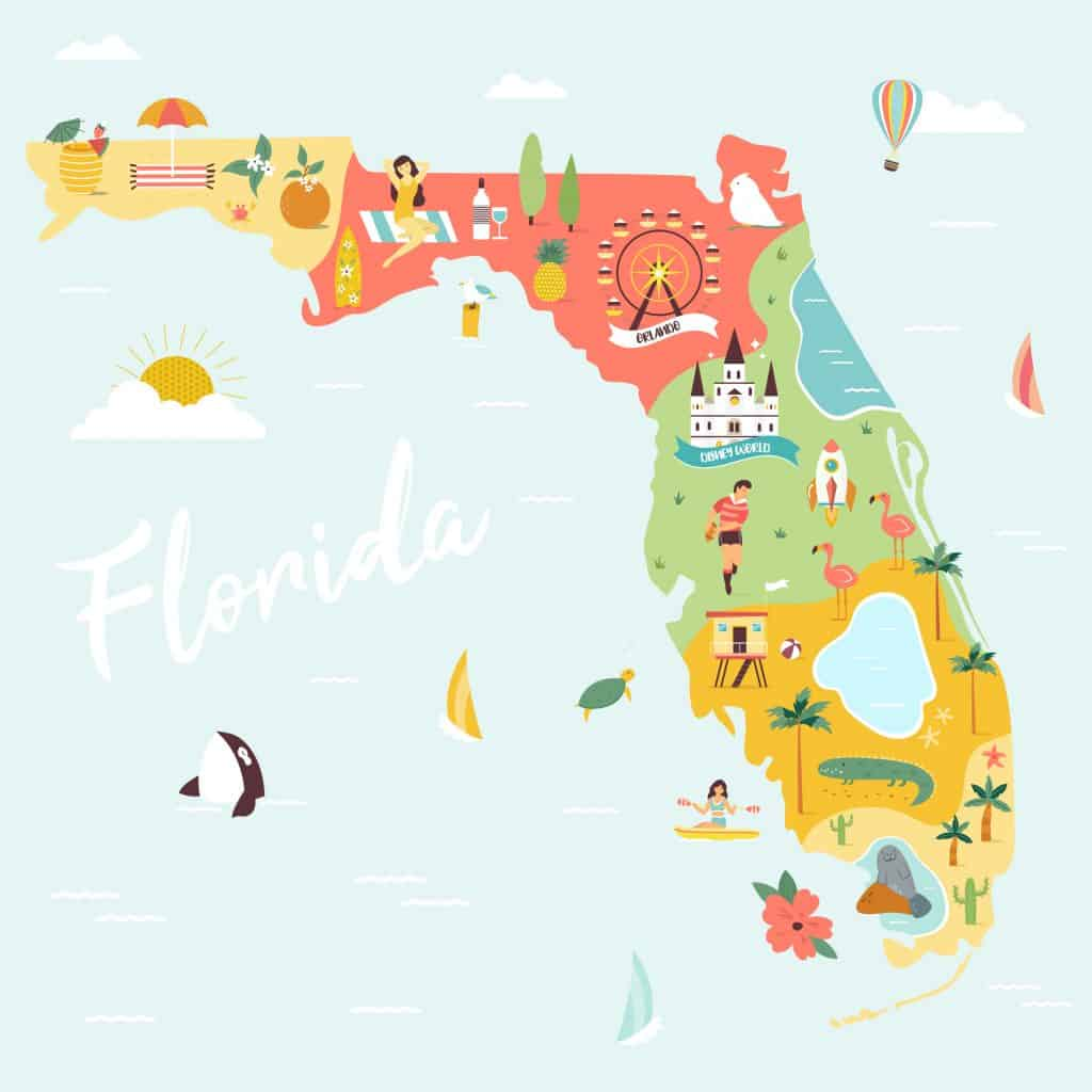 come to one of the vibrant cities in Florida for an amazing vacation