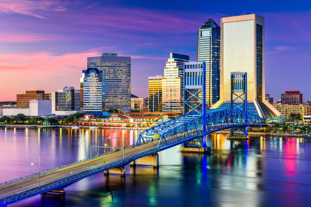 Jacksonville is the largest city by space in the United Staes
