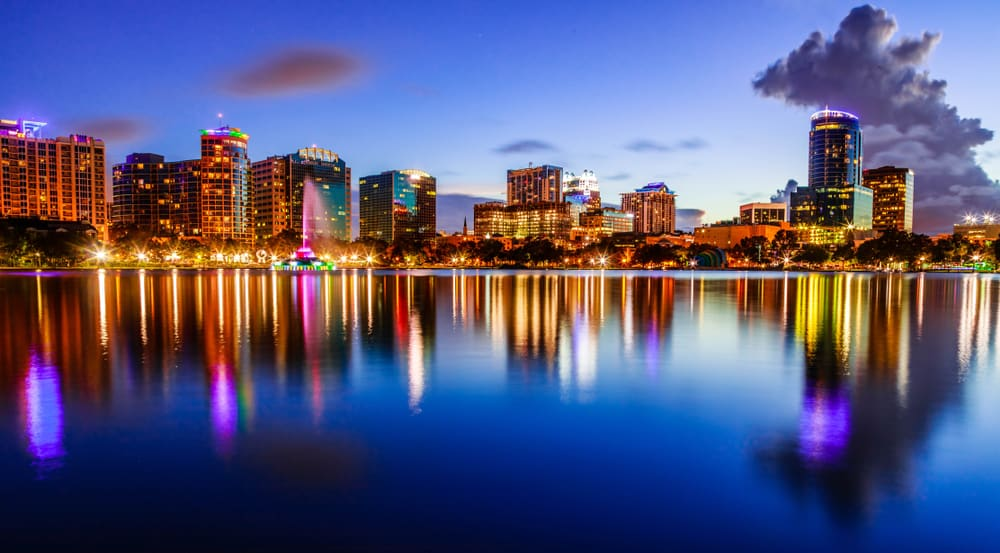 Orlando is one of the cities in Florida with the most amount of visitors each year