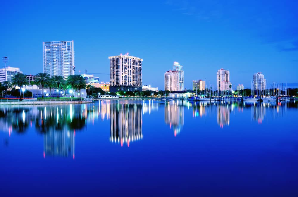 Saint Petersburg is one of the best beach cities in Florida on the gulf coast