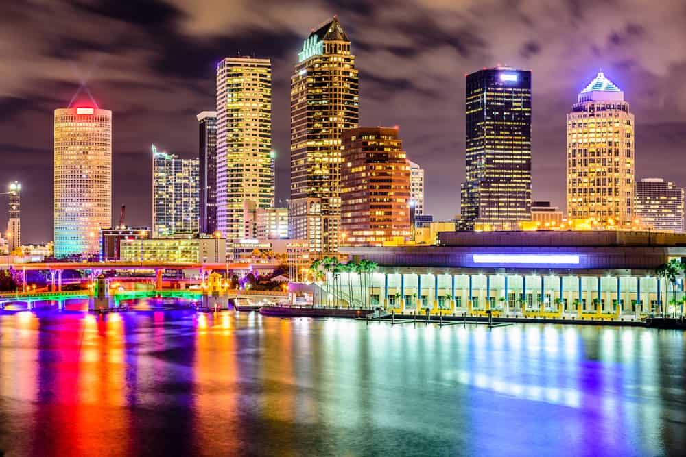 Tampa is a great town to visit in Central Florida