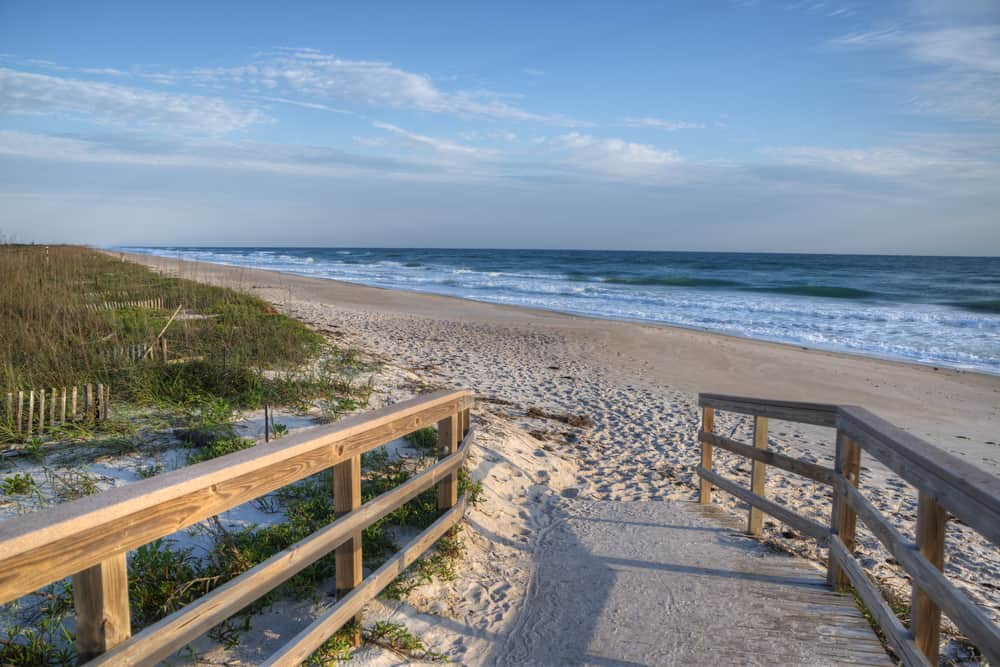 Head to Canaveral National Seashore for an unspoiled area of coastline