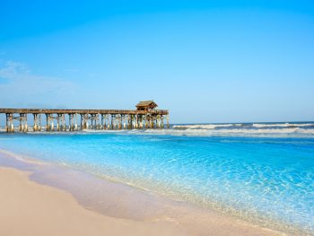 cocoa beach, one of the closest beaches to orlando