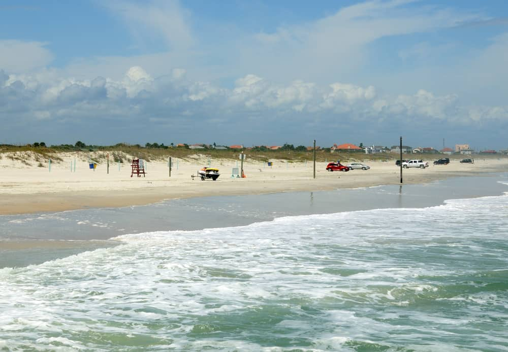 New Smyrna Beach is one of the beaches closest to Orlando that you can drive onto