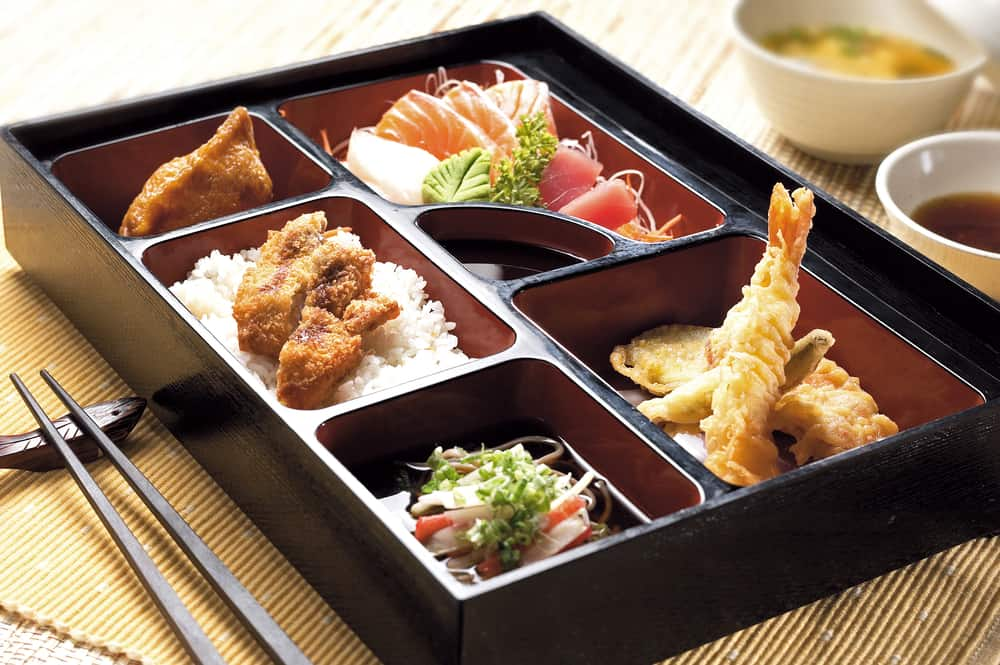 Head to the Bento Asian Kitchen in downtown Orlando for sushi and Asian style bowls