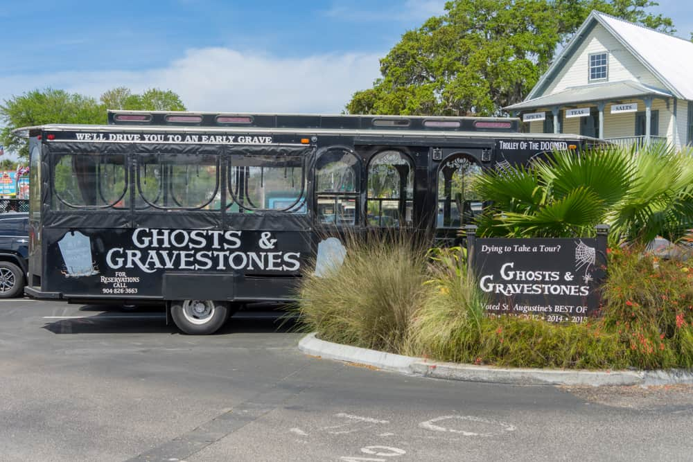 you can't go to st augustine without going on one of the iconic ghost tours!