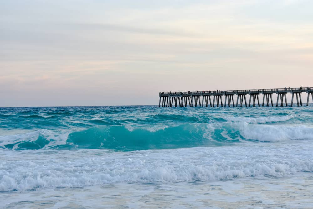 Navarre Beach is the place to go if you want to relax