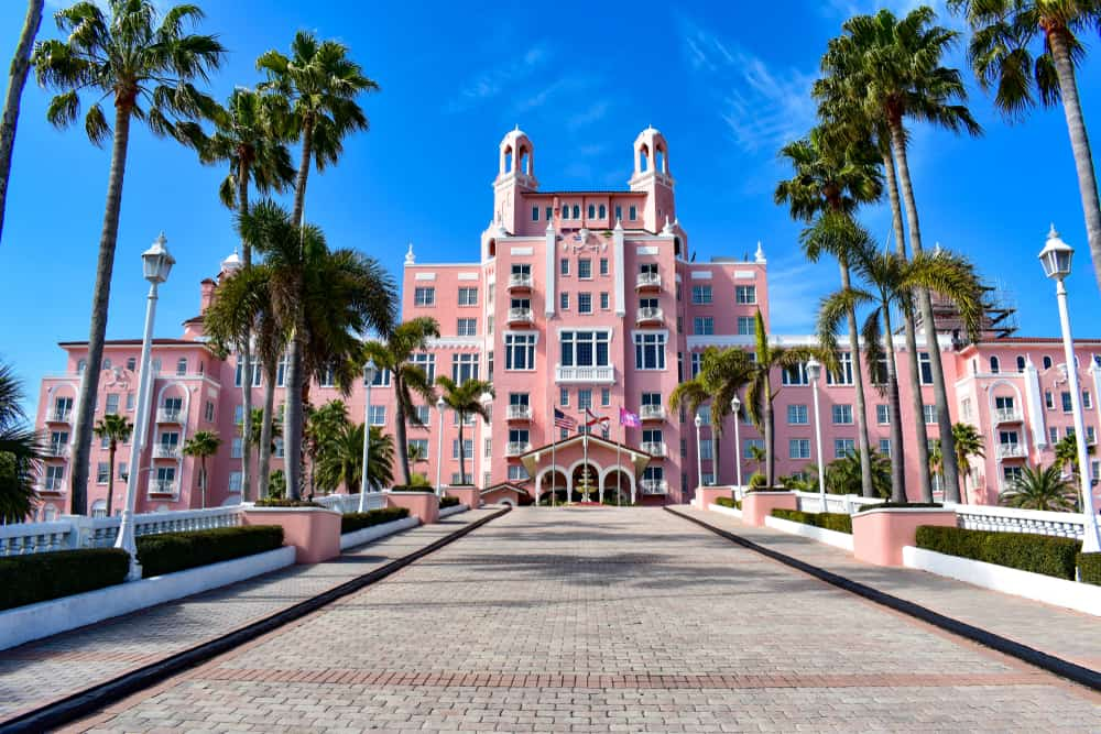 this beautiful pink palace provides the perfect instagram backdrop