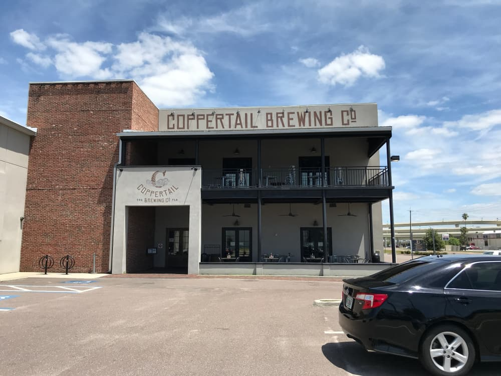 Located in downotown Ybor, Coppertail is named after the owners five-year-old's mythical sea creature who lives in the Tampa Bay!