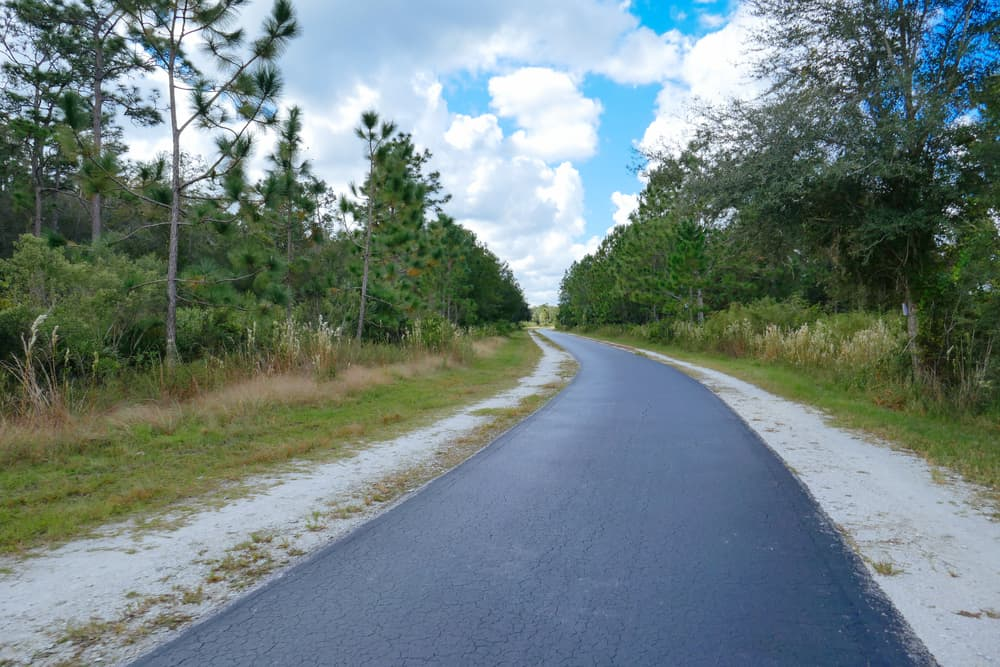 You'll have some great opportunities to go see some wildlife on your hike, including armadillos, hawks, turtles