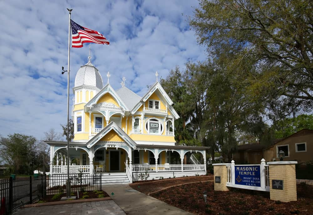 You can visit the historic Donnelly House in Mount Dora and can be rented for special events