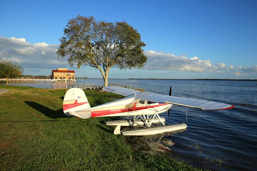 Take a seaplane ride from Jones Bro seaplanes for a romantic evening over the Lake