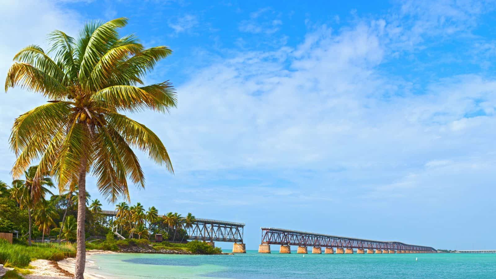 Bahia Honda state park is one of the best things to do in the keys