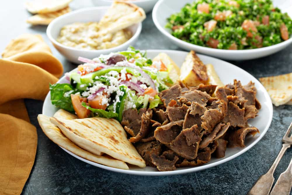 Head to Cafe Verde if looking for organic and locally grown food try the gyros bowls!