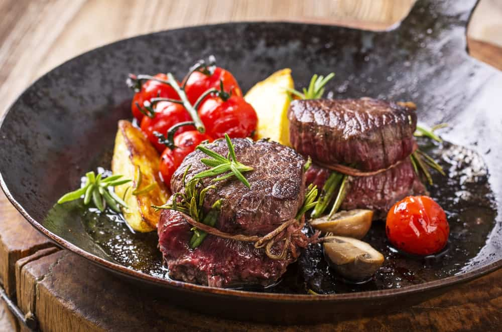 RiverPark Terrace is a modern American restaurant with a beautiful garden setting serving up delicious steak!