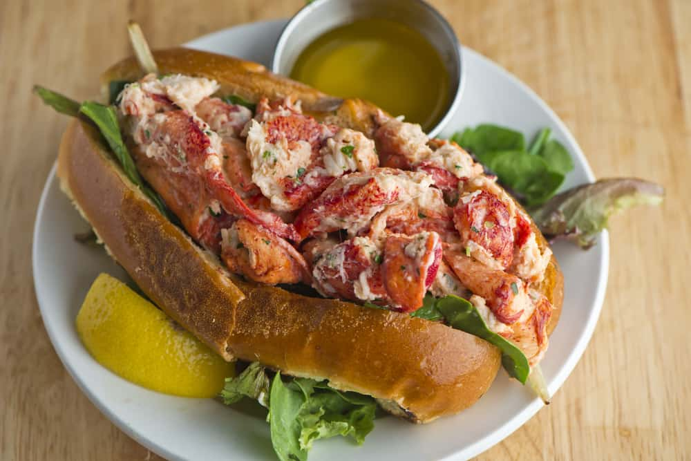 Try the lobster roll at the family owned restaurant Uncles Chicken
