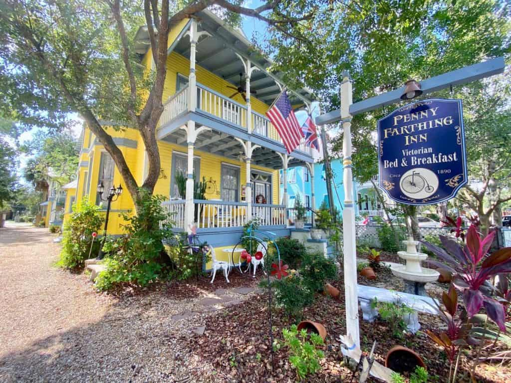 there have been reports of sheets being tugged in the night at this haunted hotel in saint augustine