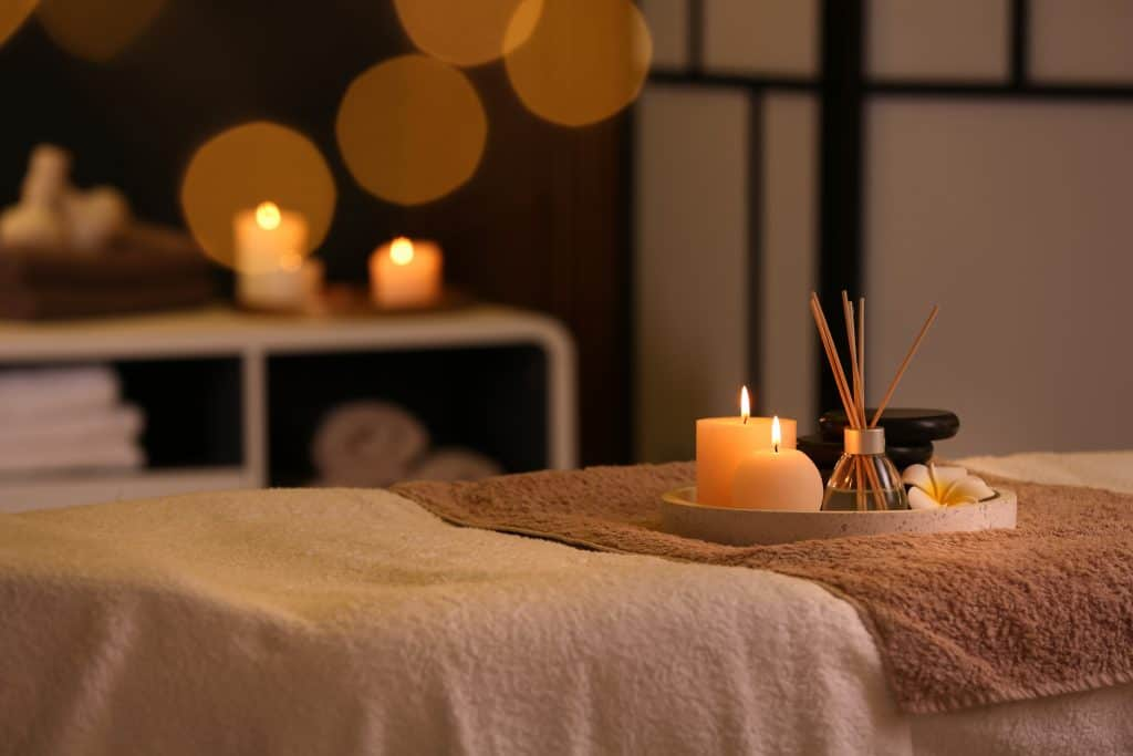 A spa treatment awaits you at the Siesta Healing Spa, one of the best things to do in Siesta Key.