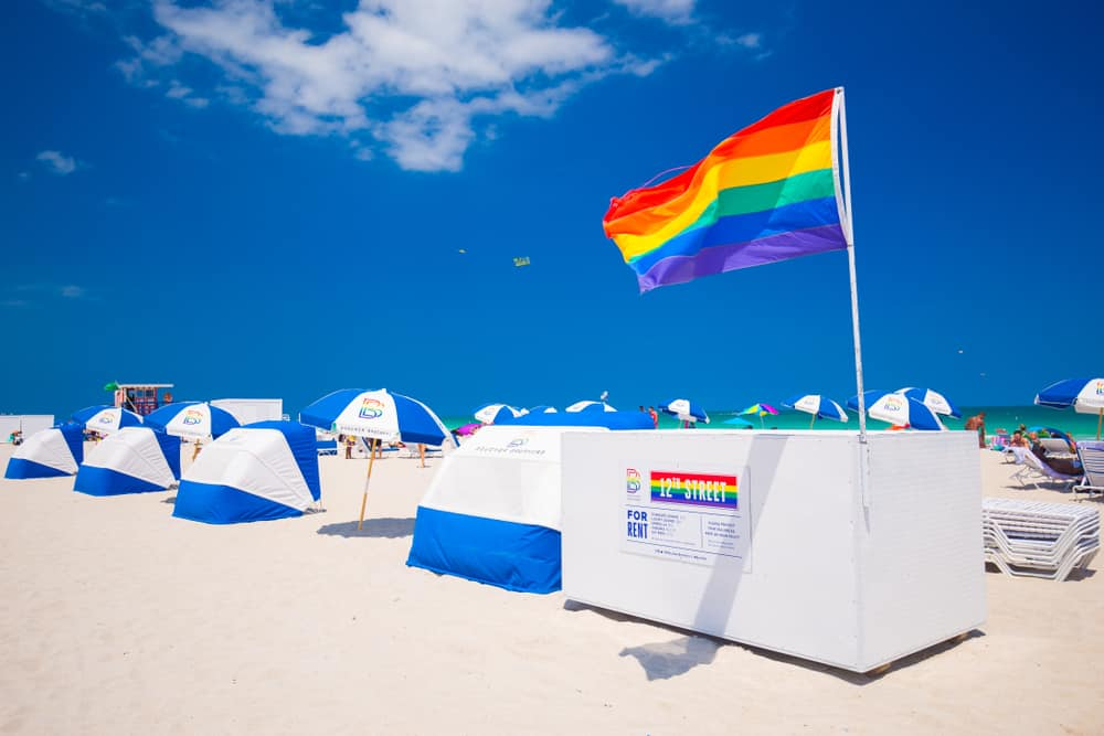 If you are looking for one of the best gay beaches in South Florida, head to the 12th Street Beach.