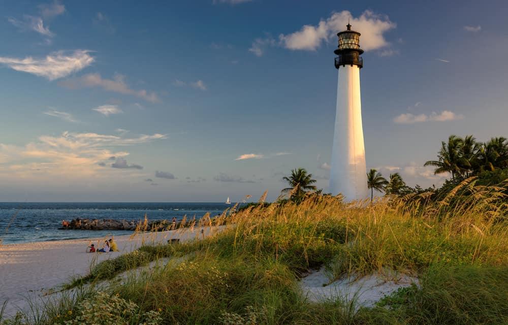 Bill Baggs Cape Florida State Park has a beautiful South Florida beach.
