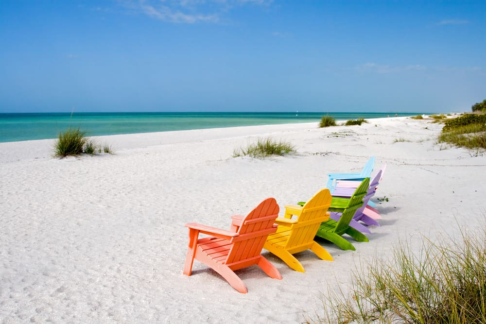 Captiva Beach is one of the best beaches in South Florida for couples.