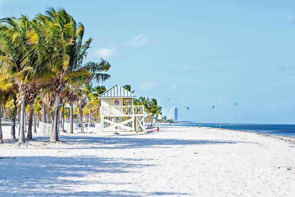 Crandon Park Beach is a great place to visit in Florida.