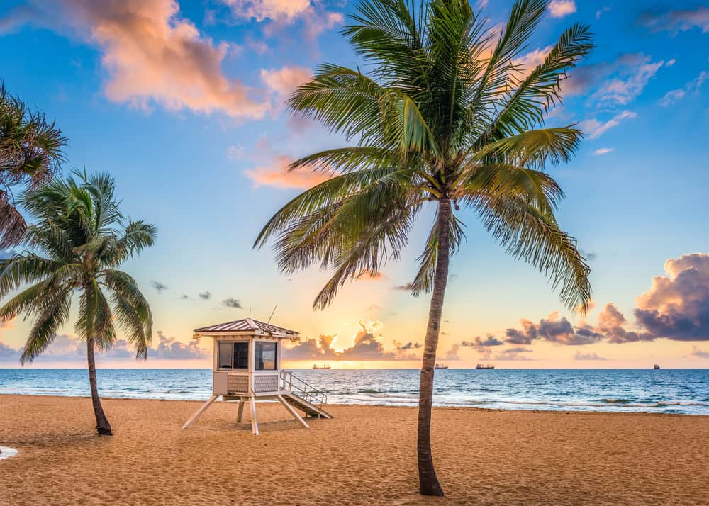 Fort Lauderdale Beach is gorgeous and ready for a swim.