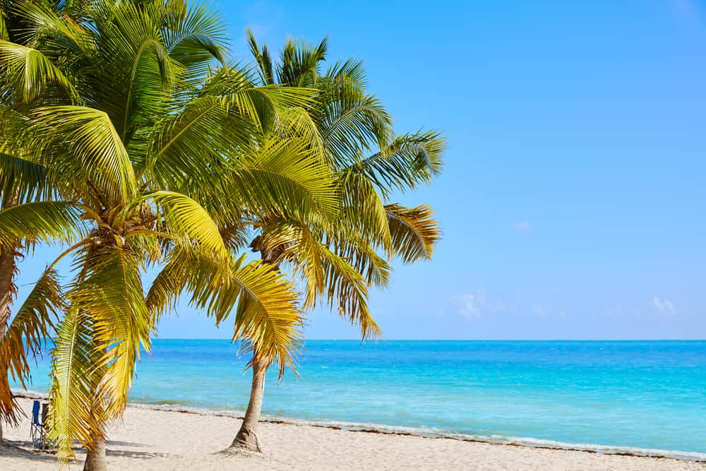 Smathes Beach is one of the best beaches in Key West.