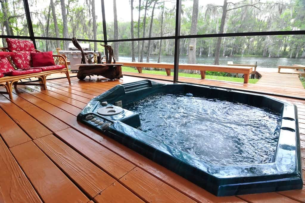 Home enjoy this beautiful property at Rainbow river
