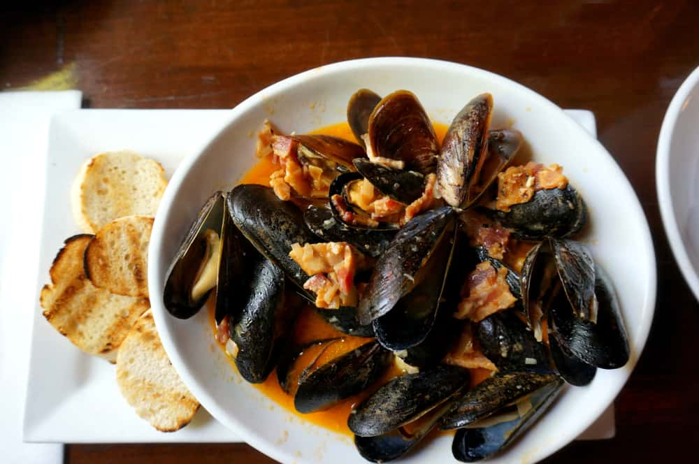 for starters order the mussels