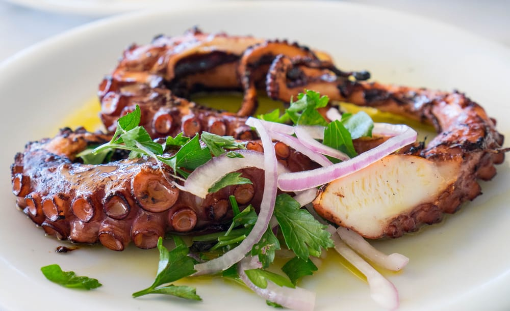 at s3 you can try the grilled octopus