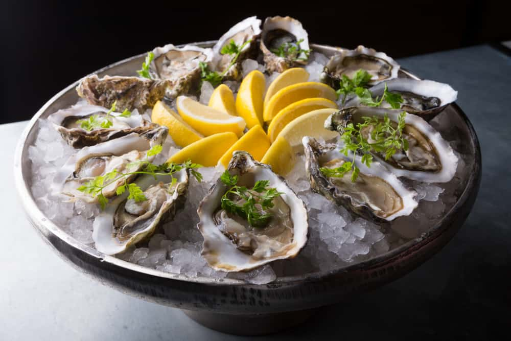 try the oysters on the half shell here