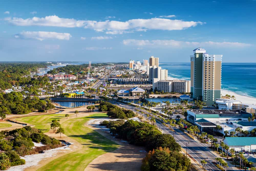 Overview of Panama City Florida