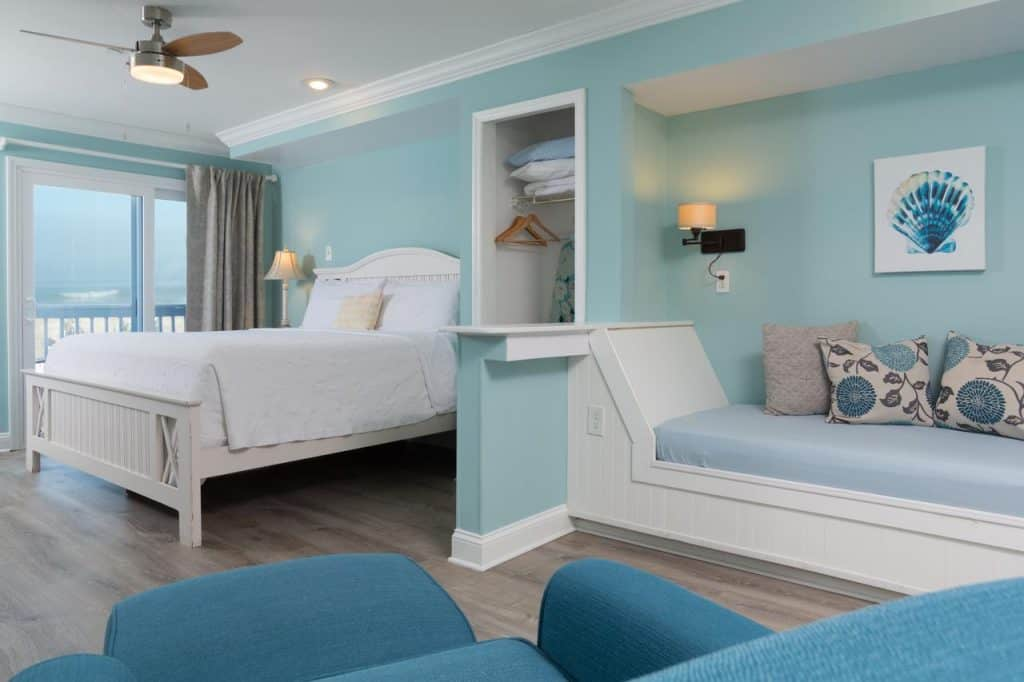 This is one of those hotels in Saint Augustine on the beach that is decorated so cozy that it will make you feel like you are in a home away from home rather than a hotel!