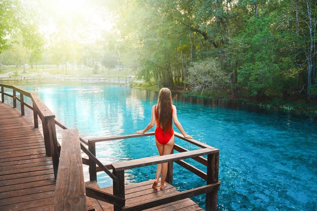 you can only go tubing in florida at gilchrist blue springs in the designated swimming area