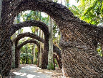 Photo of McKee Botanical Gardens in Vero Beach, one of the oldest botanical gardens in Florida.