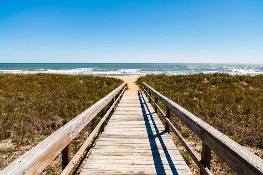If you're a fan of shelling, then South Ponte Vedra Beach is one of the best beaches in Saint Augustine for you!