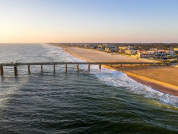 St Augustine Beach is one of the best beaches in Saint Augustine for families as there are so many different activities to do