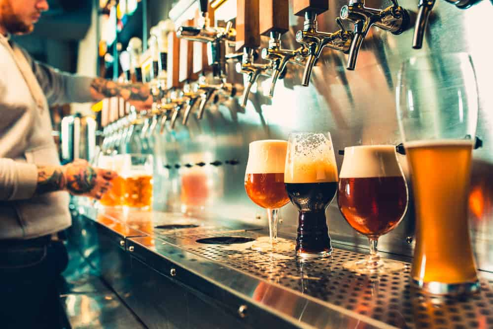 best things to do in orlando at night photo of beers on tap