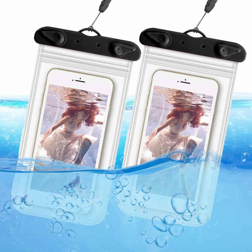 This waterproof phone case will keep your electronics safe and sound.