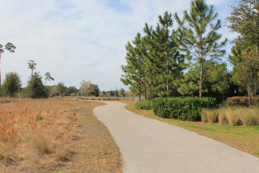 Lake Baldwin Park Loop, a great hike in Orlando right on the water.