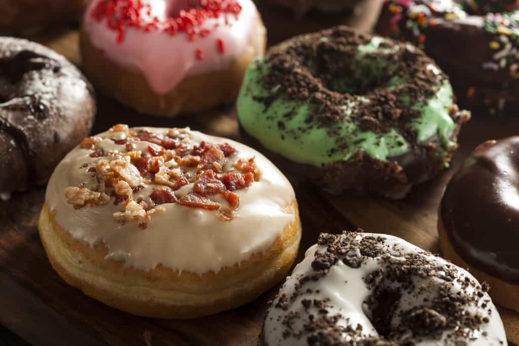 The gourmet donuts at the Jupiter Donut Factory are enough to make your mouth water